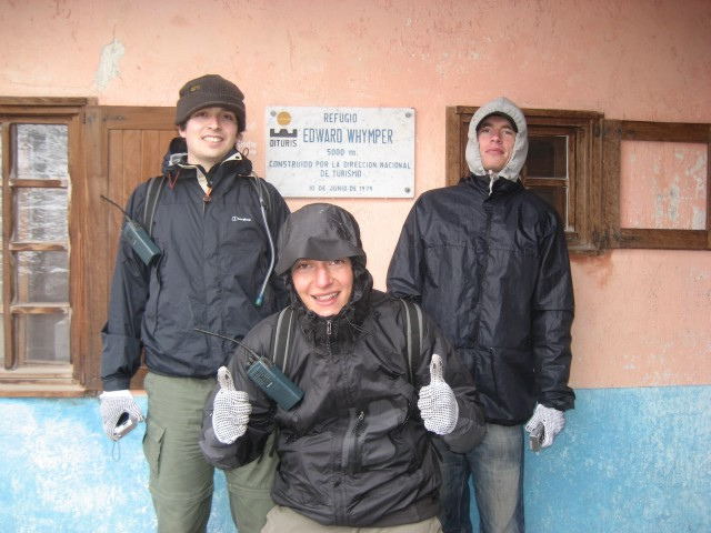 Shep, Russ, and Ed at 5000m