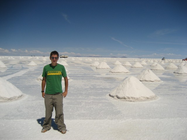 Shep on the Salt Plain!