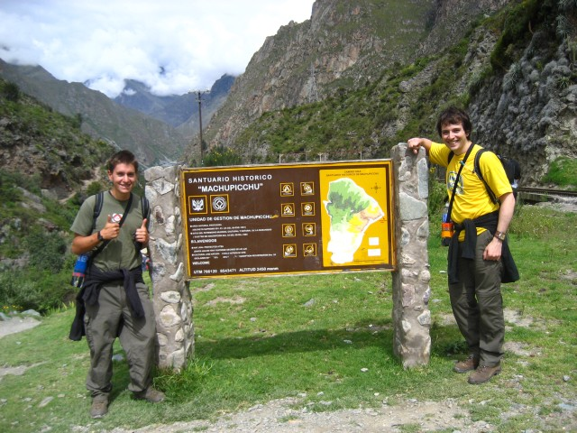 start of the inca trail