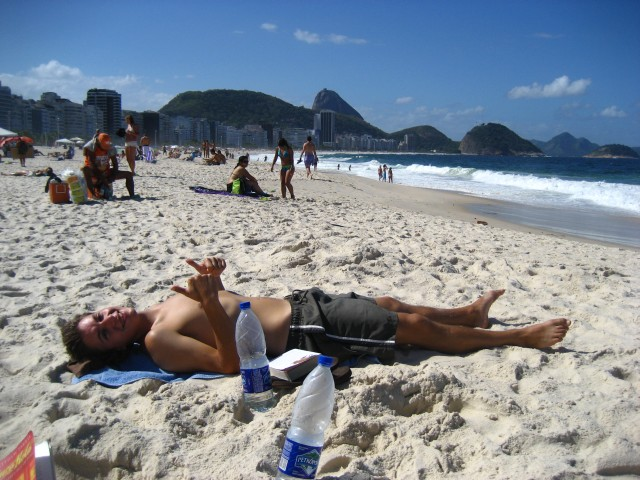 Reminiscing on Copacabana